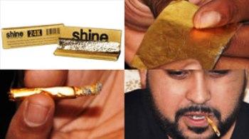 rokok lintingan emas