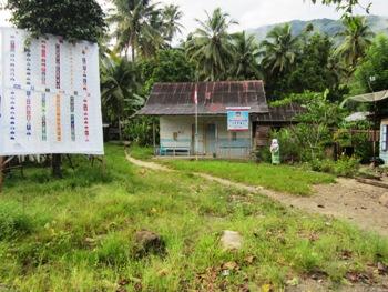 foto lokasi rencana pembangunan Polsek Panyabungan timur