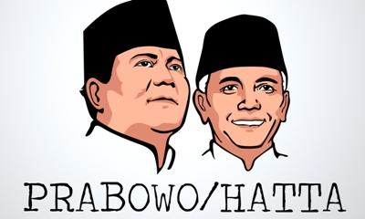 Di Madina Prabowo-Hatta 76,1 %, Jokowi-JK 23,8 %