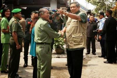 SBY resmi berhentikan Bupati Karo