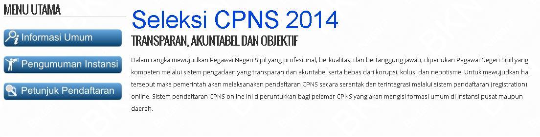 Hasil test CPNS