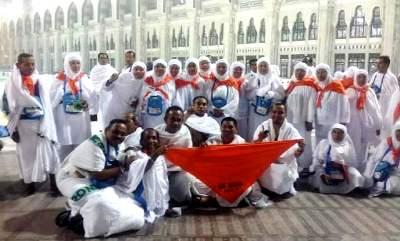Jamaah haji Madina di Makkah
