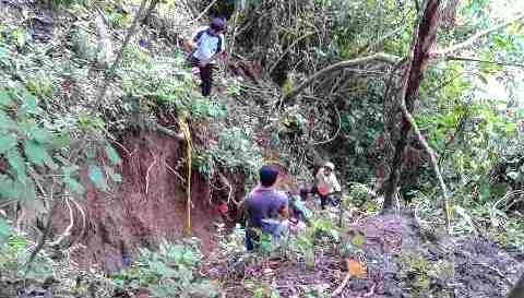 Lokasi tambang Morsip lokasi 5 tewas