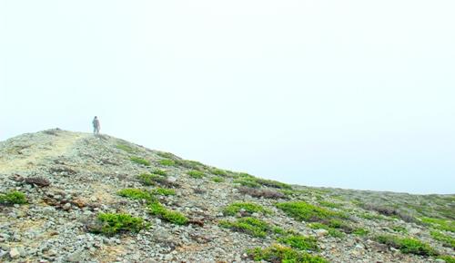 Puncak gunung Sorik Marapi