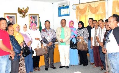 Silaturrahim wakil bupati Aceh tenggara