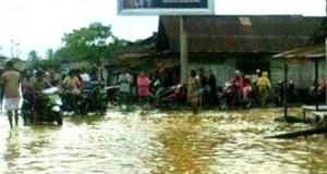banjir di batahan