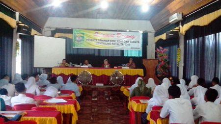 seminar seni adat dan budaya