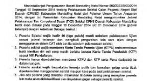 Pengumuman-Jadwal-Pelaksanaan-TKD-Seleksi-CPNS-Daerah-Kabupaten-Mandailing-Natal-Tahun-Anggaran-2014
