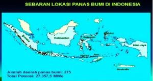 Peta Sebaran Panas Bumi di Indonesia