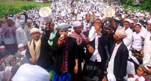 Santri Musthofawiyah demo
