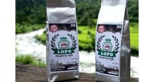 Kopi mandailing merek Lopo Mandailing