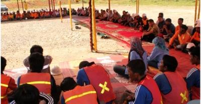 Sambutan Ramadan OTP di base camp Purba Lamo