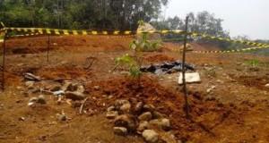 Area temuan yang diduga makam usia ratusan tahun