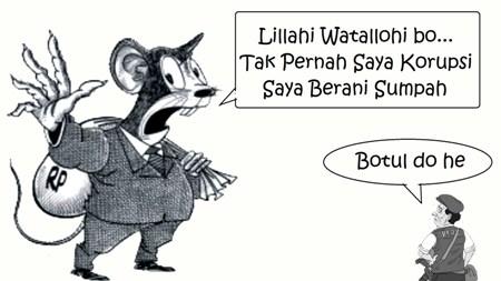 Koruptor Sok Bersih