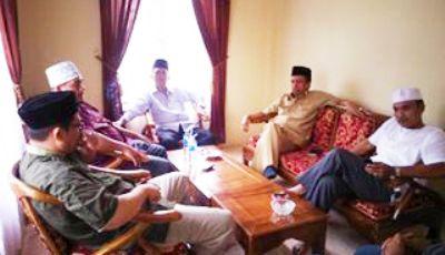 Kunjungan pasangan Yusuf-Imron ke DPD PKS Madina