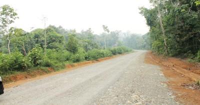 Jalan titik Purba Lamo-Sibanggor Jae yang dibuka