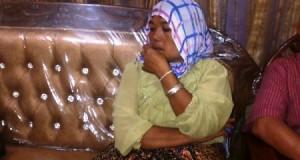 Nurhayani Siregar yang mengaku menjadi otak pembunuhan suaminya.
