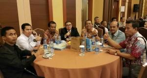 yusuf - imron saat mengikuti acara Munas IKANAS di Jakarta