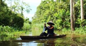 Nelayan rawa di Rodang Tinapor