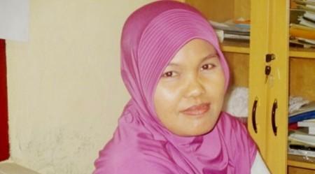 Mas Khairani, Divisi Sosialisasi,Data dan Informasi KPU Madina
