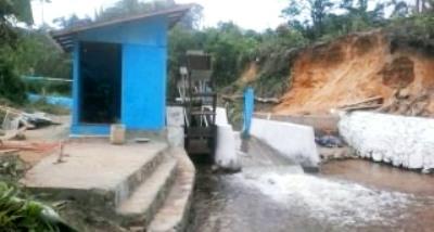 Pembangkit Tenga Listrik Tenaga Air di Aek Nabara