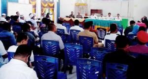 Musrenbang Kecamatan di aula kantor camat Panyabungan Timur