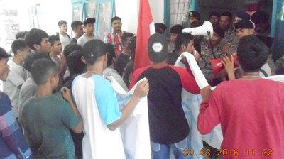 Massa Gemar Madina di halaman Dinas Pertanian Madina