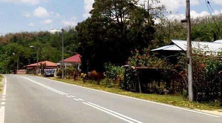 Salah satu pemukiman di Kampung Kerangai