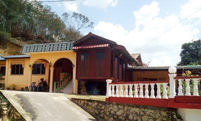 Salah satu rumah kaum Mandailing di Kerangai