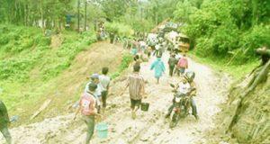 jalur titik Batu Jomba, Tapanuli Selatan