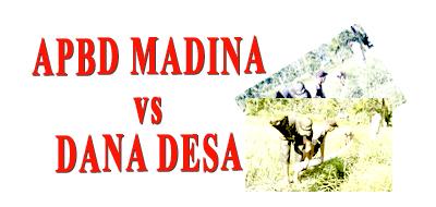 APBD Madina vs Dana Desa grafis