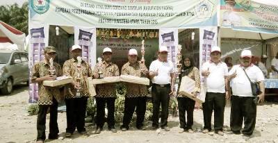 Darmin dan KTNA serta Pejabat BP2KP Madina di Peda KTNA 2016 di Batubara