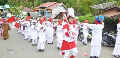 Grup drumband Mts al-Halim Sipogu