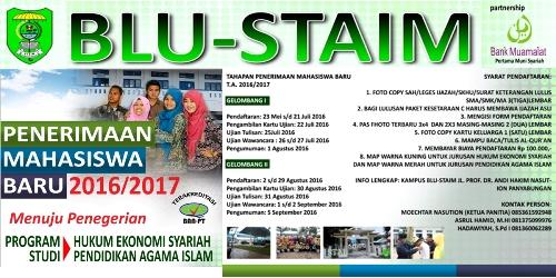 grafis STAIM buka pendaftaran baru