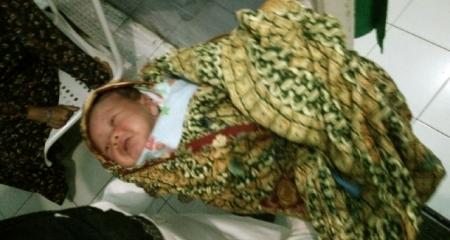 Bayi yang ditemukan