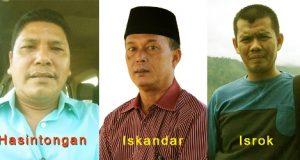 Hasintongan Sitorus, Iskandar Hasibuan, Isrok Ansyari
