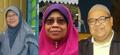 Puan Nurmah Binti Mahiram Batubara, Dato' Habibah Binti Zon Lubis, Dato' Muhammad Shuhaili Bin Muhammad Taufek Nasution