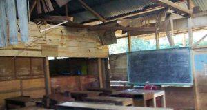Ruang kelas SD Negeri 261 Banjar Melayu